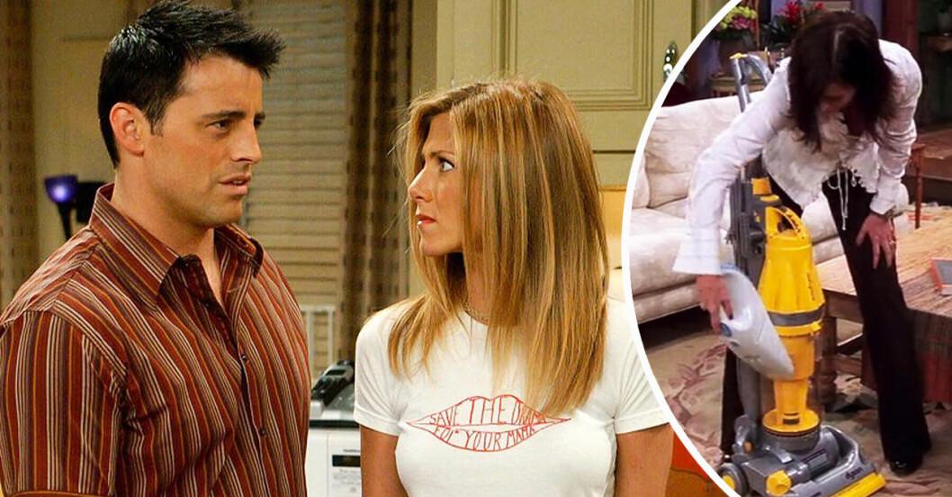 Rachel. Joey och Monica