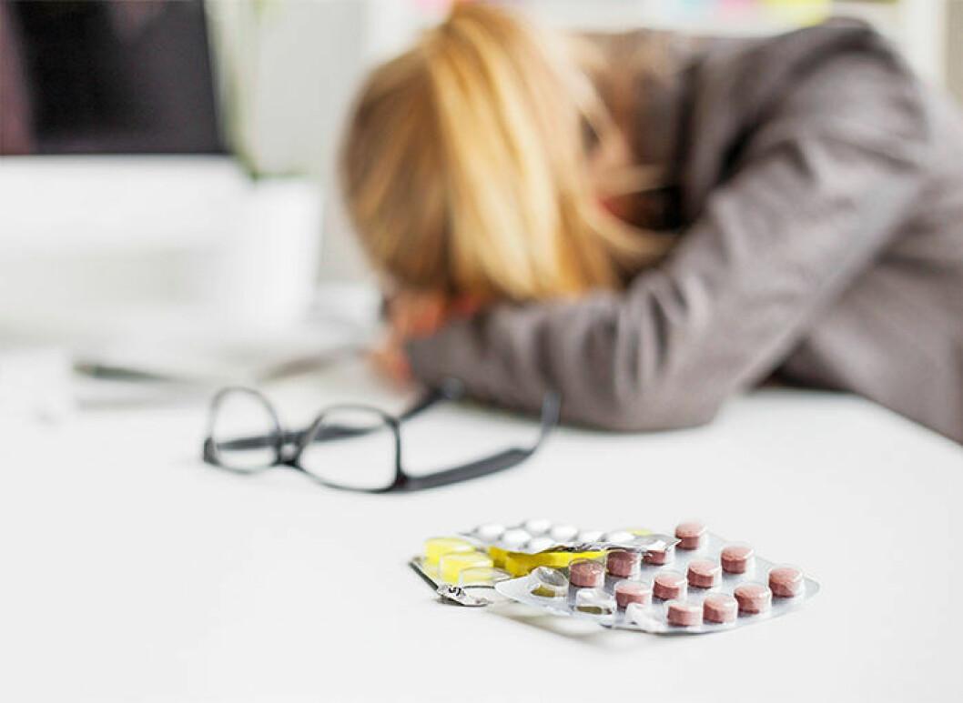 Huvudvärk av stress