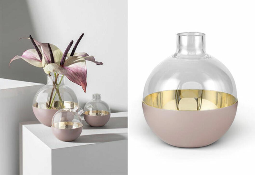 Kombinerad vas och ljushållare från Skultuna - fin som bröllopspresent