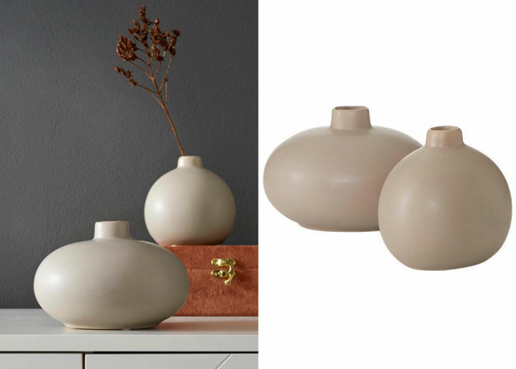 små vaser från ellos home
