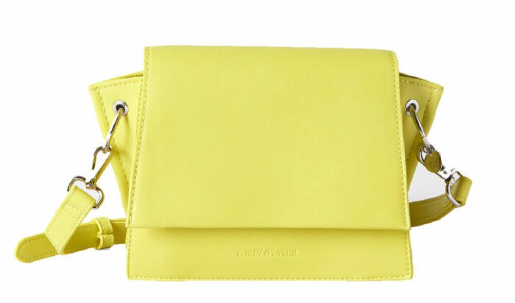 neongul handväska från carin wester