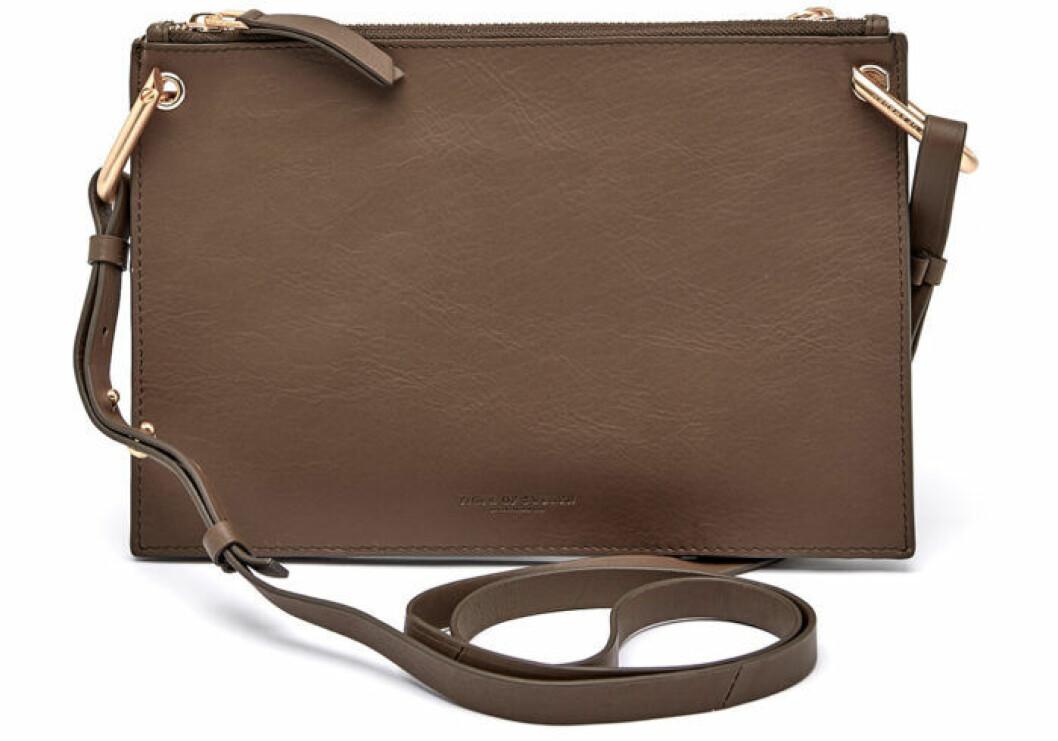 Brun läderväska från Tiger of Sweden