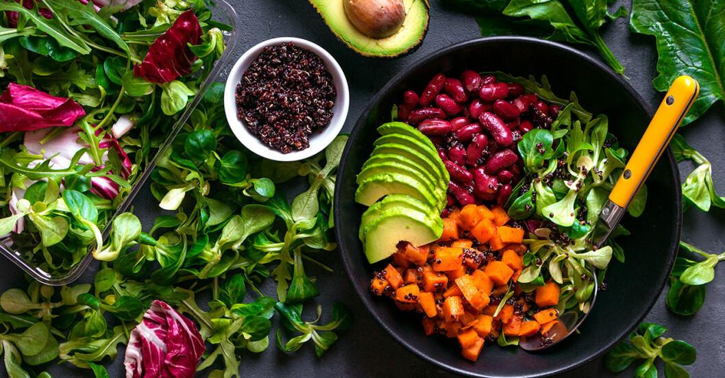 Vegetariska matkassar hem till dörren