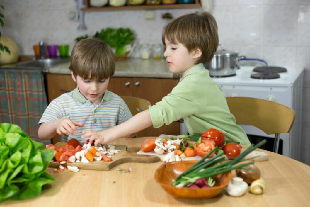 Det går bra att ge barn veganmat så länge den är genomtänkt.