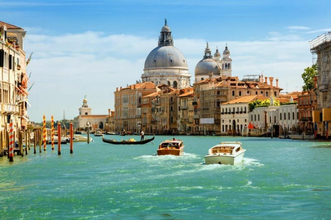 Venedig bröllopsresa