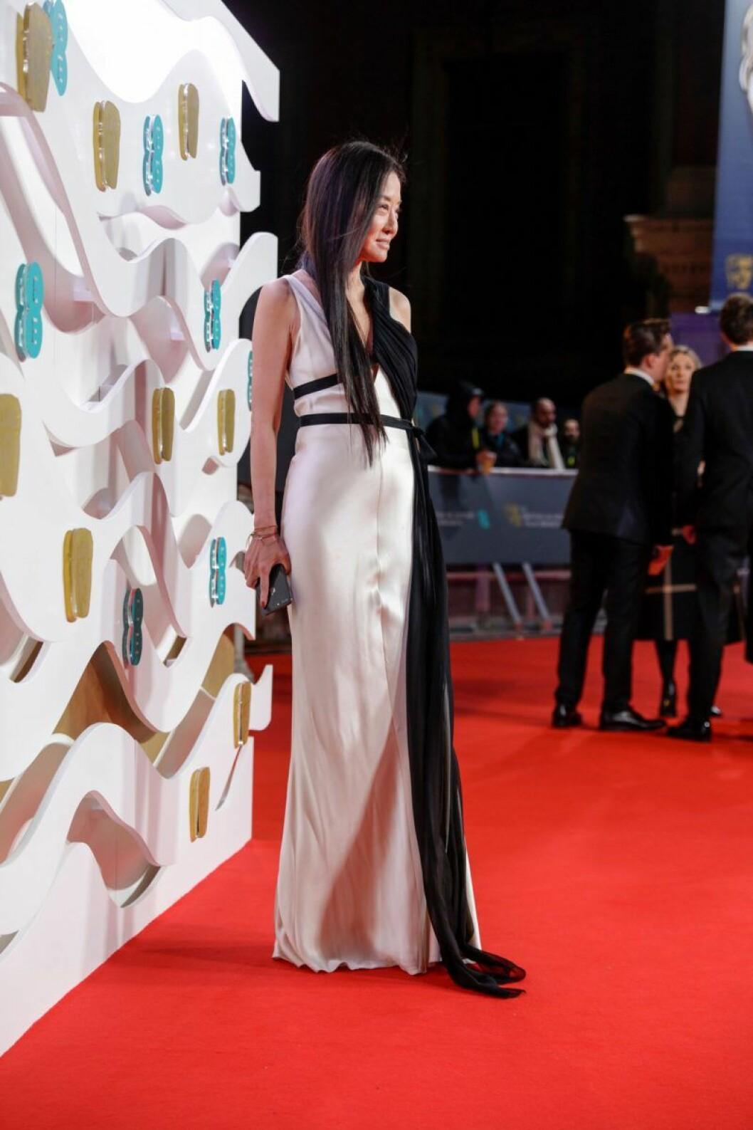 Vera Wang på Bafta-galan 2020.