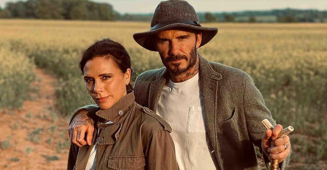 Victoria Beckham och David Beckham