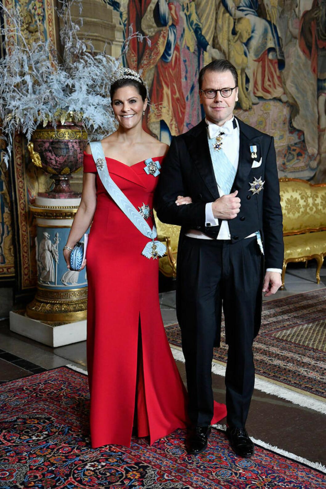 kronprinsessan victoria nobel middag slottet