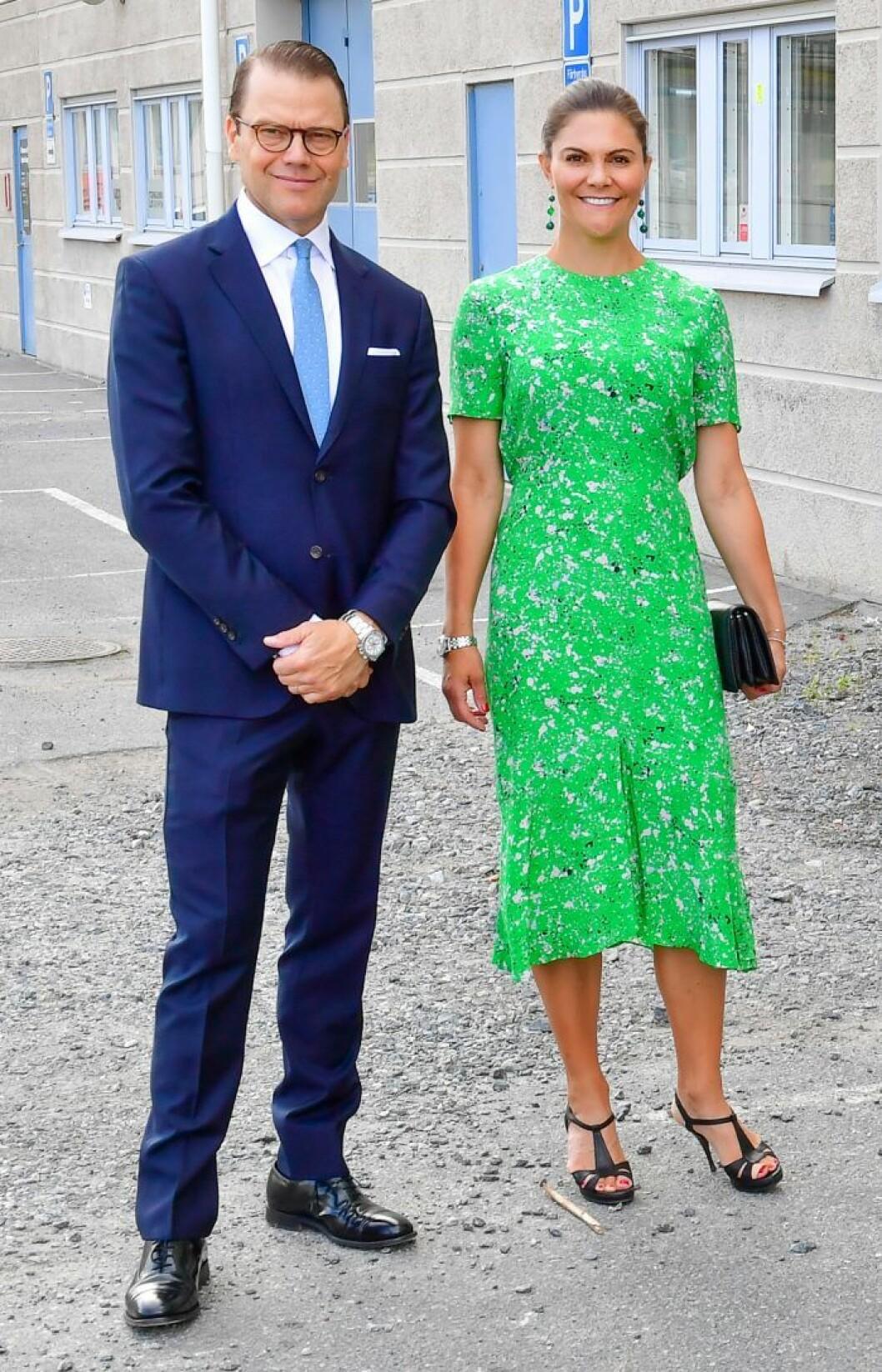 Kronprinsessan Victoria och prins Daniel hos ateljéföreningen WIP-sthlm