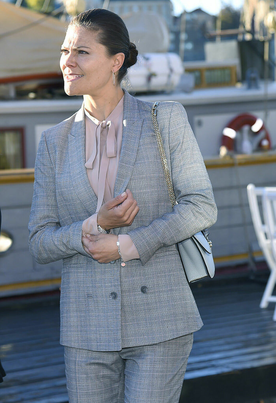 Crown princess Victoria Attendance at the Brig Tre Kronor's and the Sustainable Seas Initiative's Baltic Sea Seminar, Skeppsholmen, Stockholm, 2016-10-03 (c) Karin Tˆrnblom / IBL