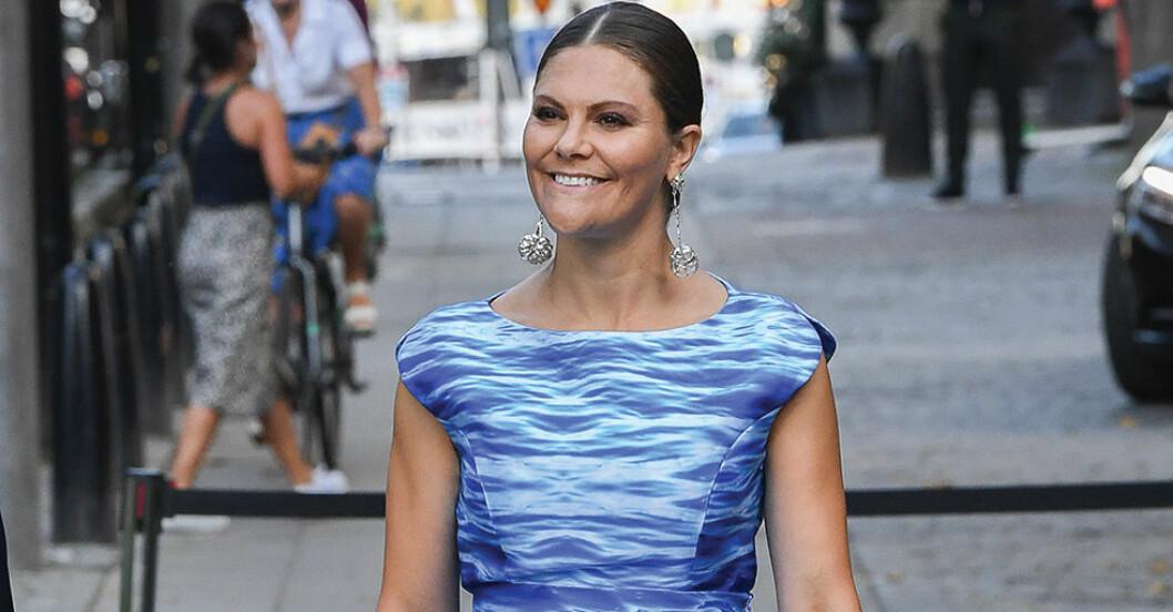 kronprinsessan victoria water prize klänning