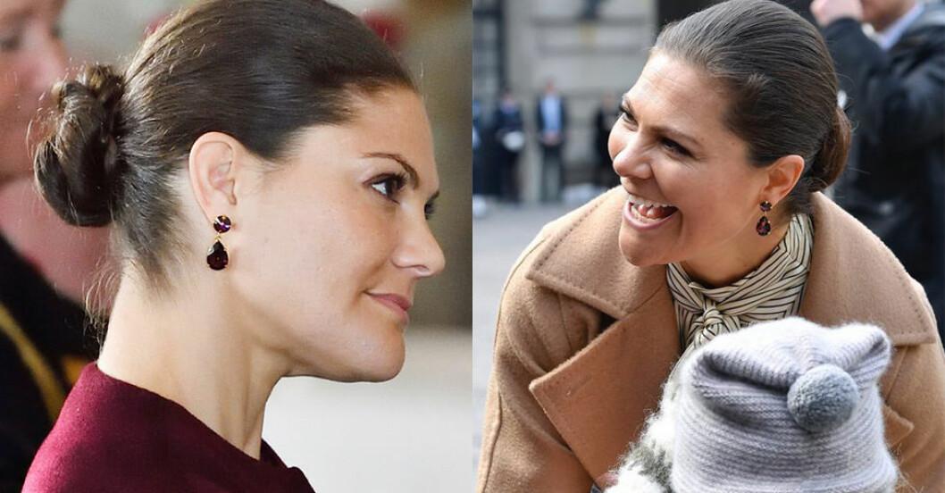 Kronprinsessan Victorias örhängen