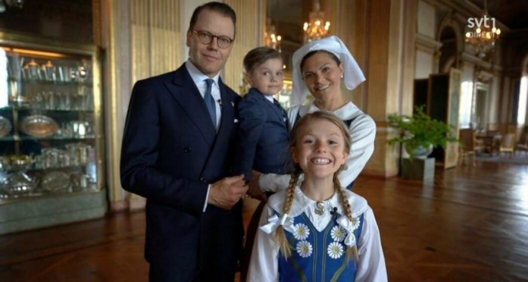 kronprinsessfamiljen