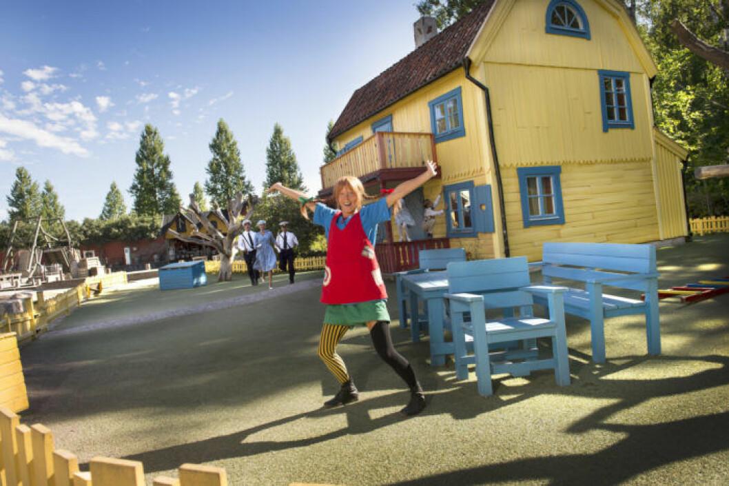Ville Villekulla på Astrid Lingrens värld