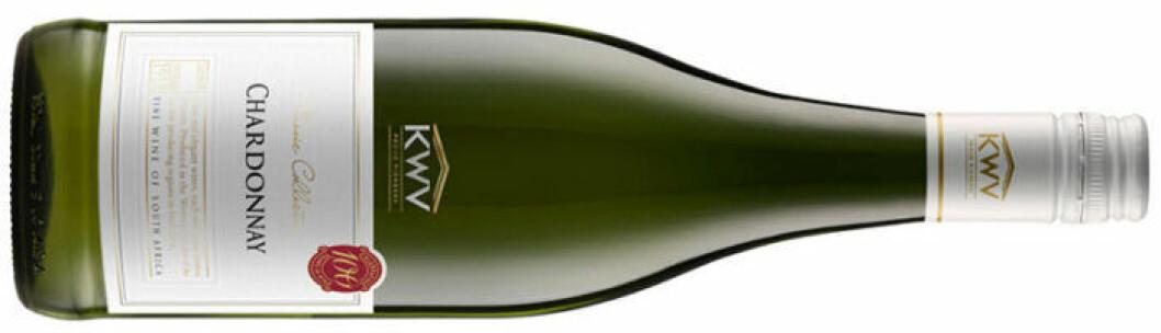 KWV Chardonnay (nr 7055), Sydafrika: Western Cape, 79 kr