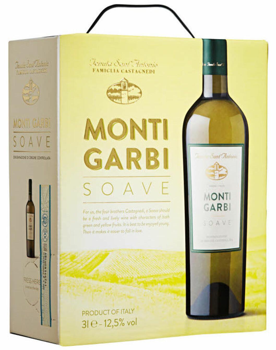 Monti Garbi Soave (nr 2078), Italien, Venetien, 249 kr.