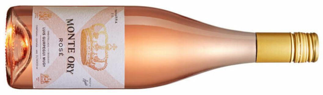 Monte Ory Rosé (nr 2268) Spanien, Navarra, 86 kr.