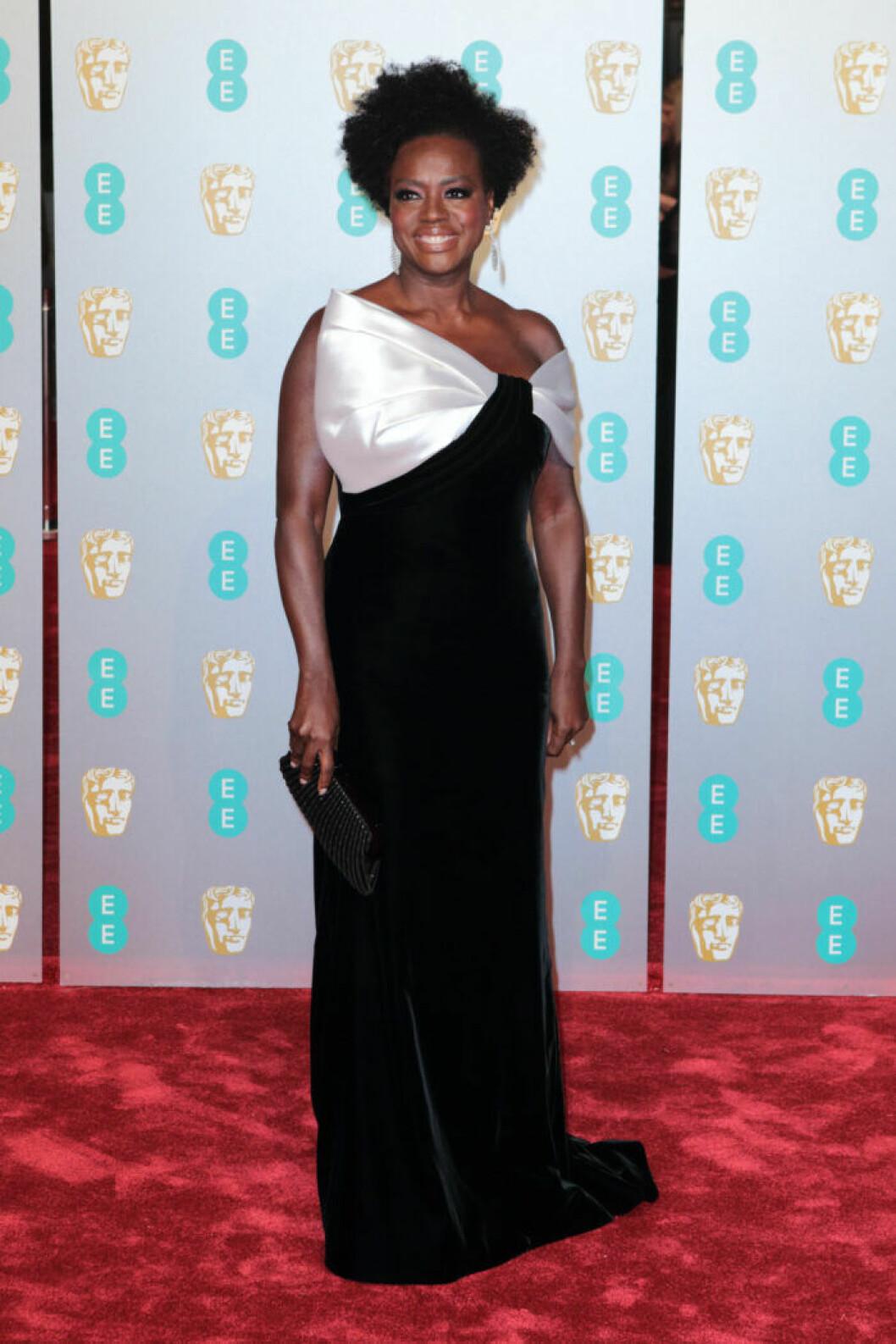 Viola Davis på Bafta 2019