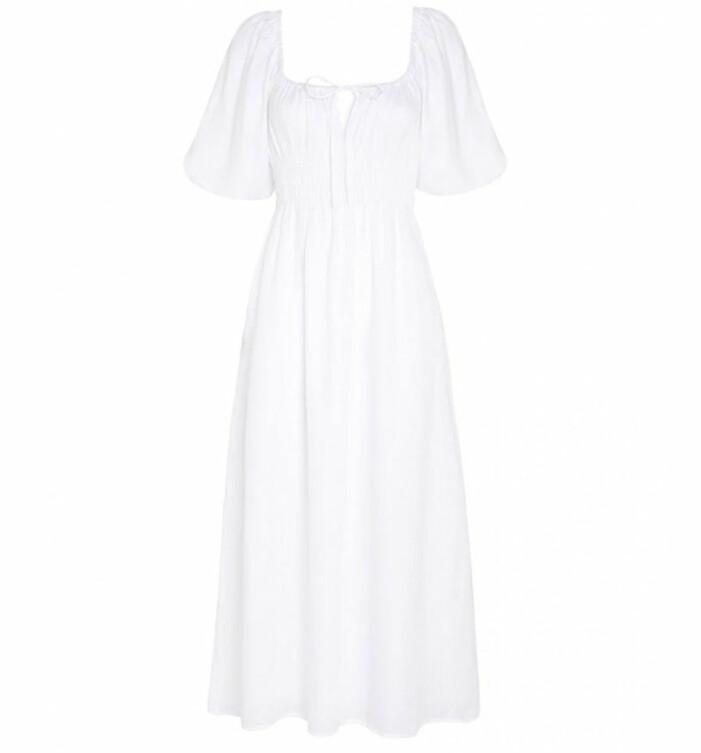 vit klännign faithfull the brand