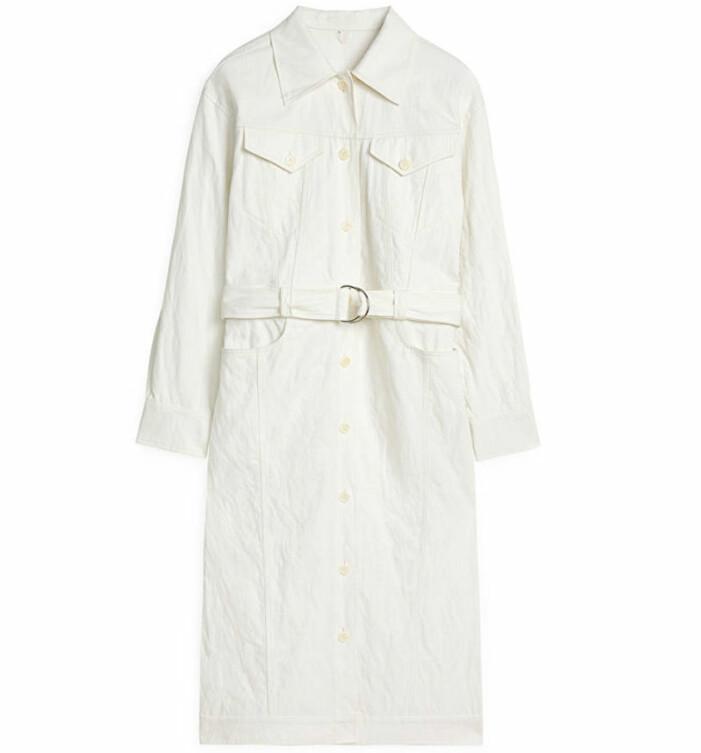 vit klänning arket