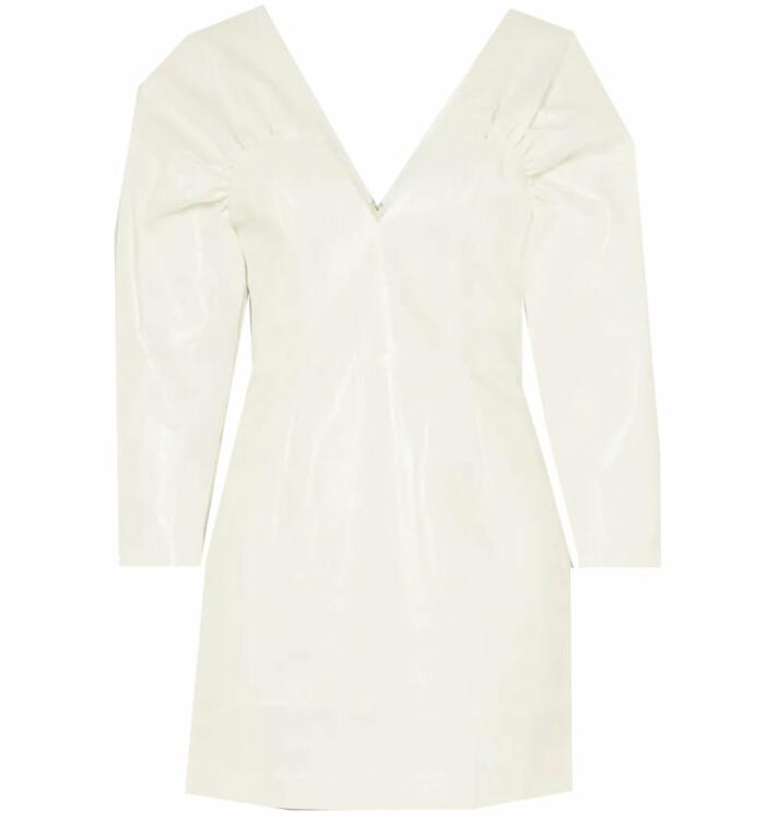 vit klänning birger christensen