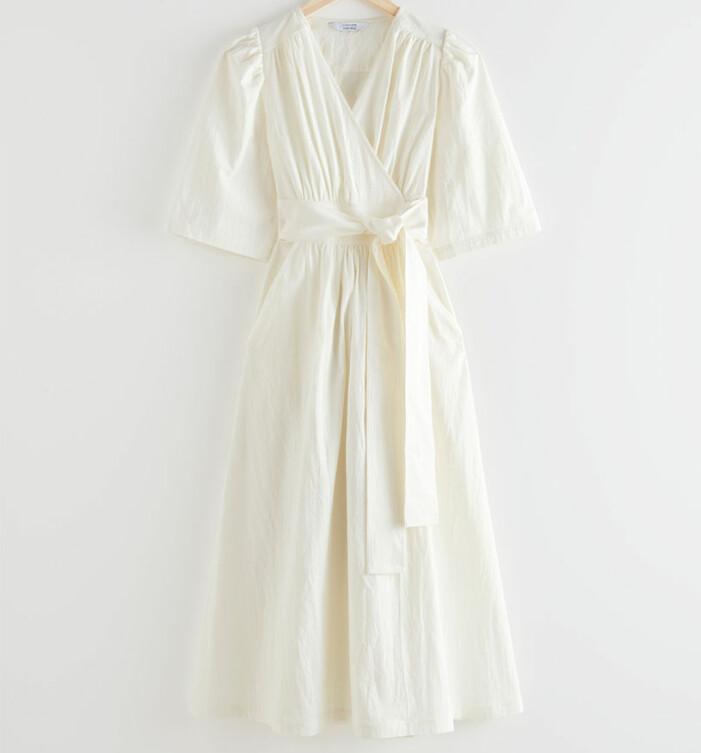 vit klänning other stories