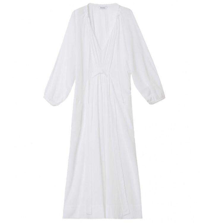 vit klänning rodebjer