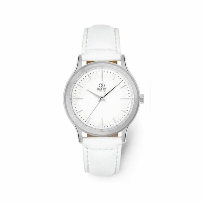 vit klocka