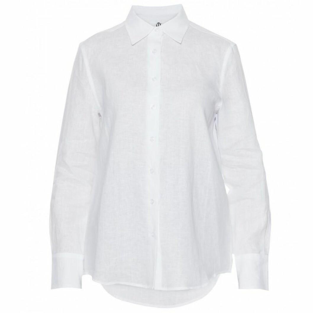 Rak skjorta i linne från Wakakuu