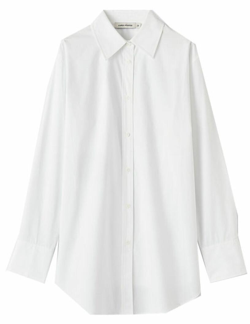 vit skjorta carin wester
