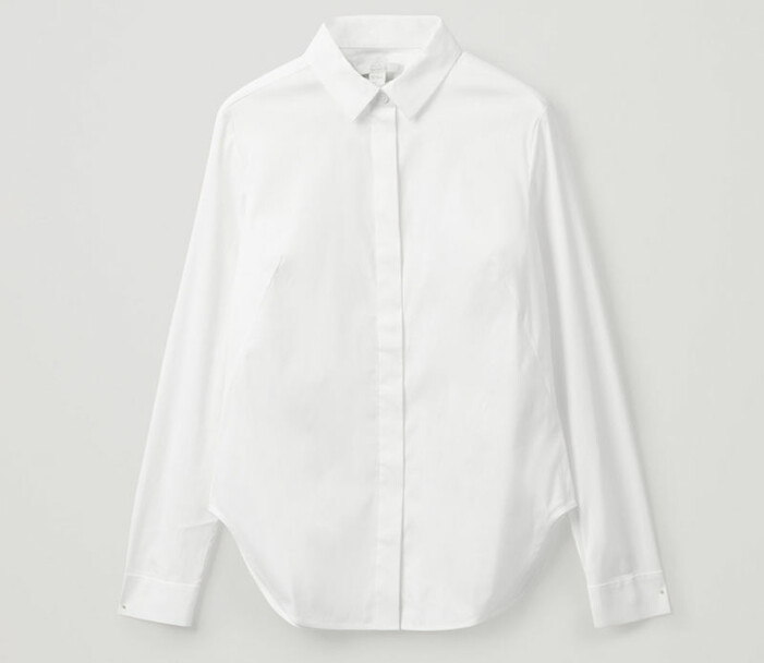 vit skjorta cos