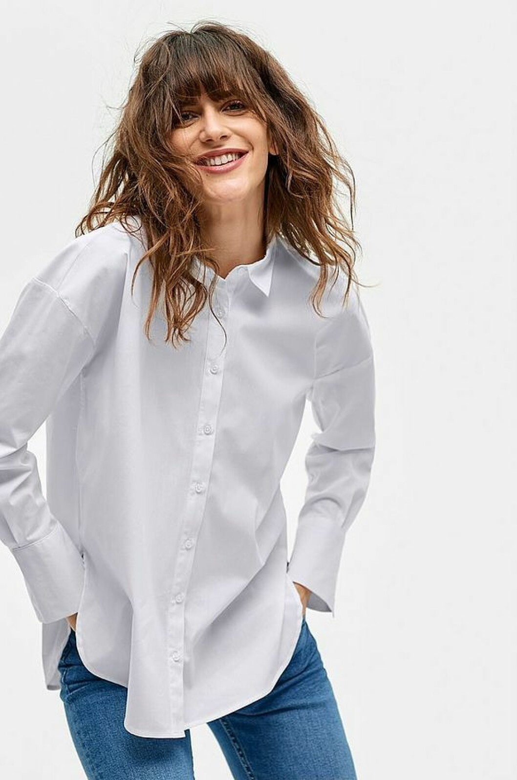 Vit skjorta från ellos