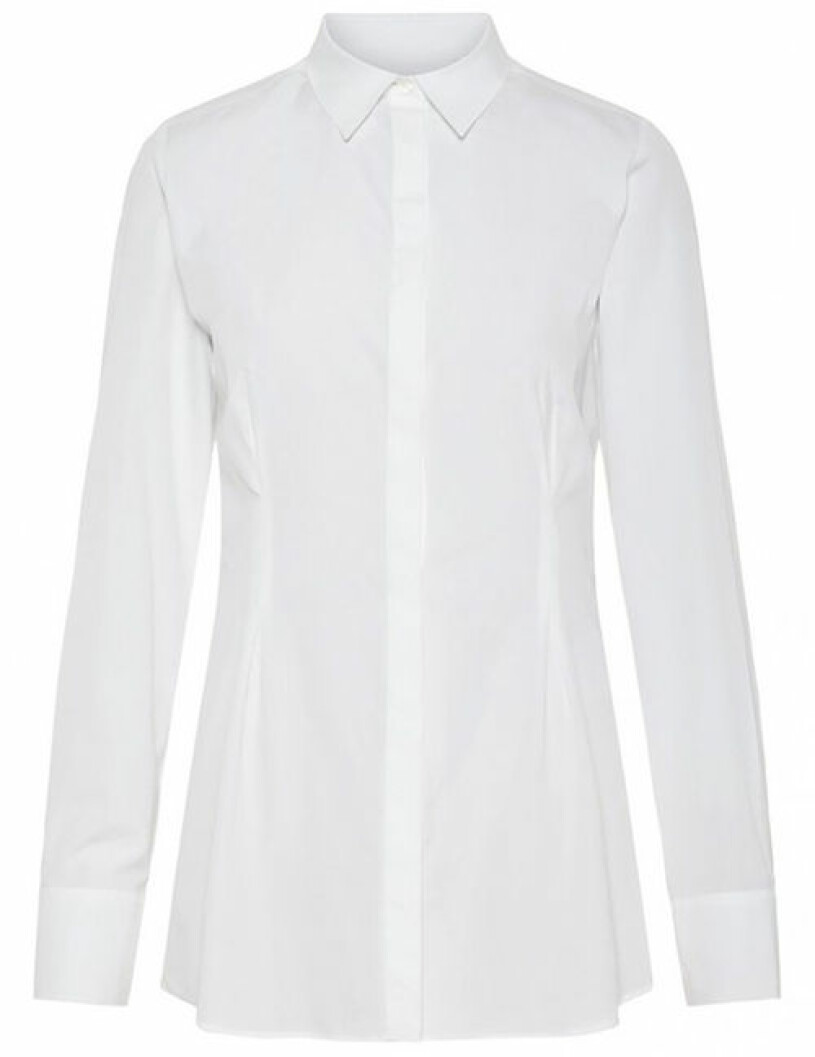 vit skjorta j lindeberg