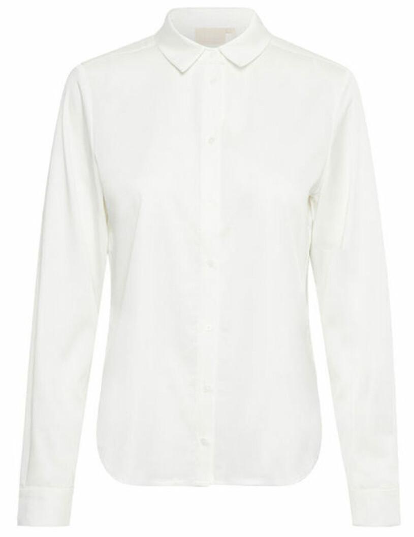 vit skjorta karen by simonsen