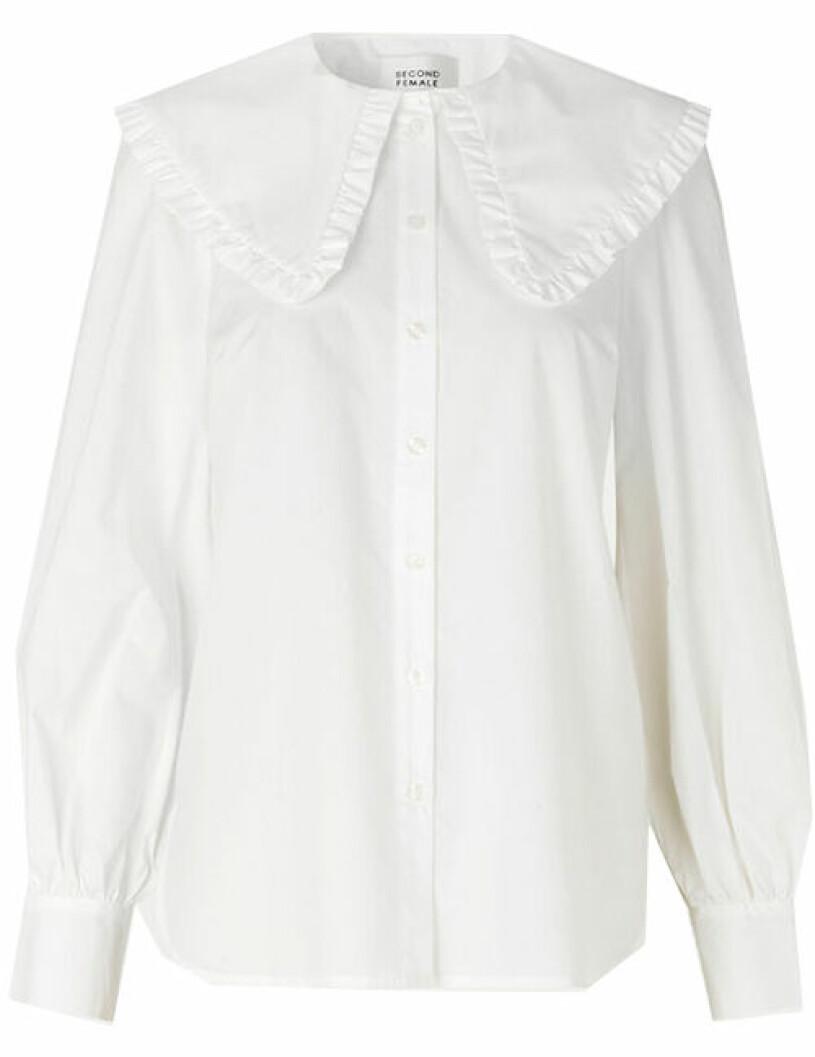 vit skjorta second female