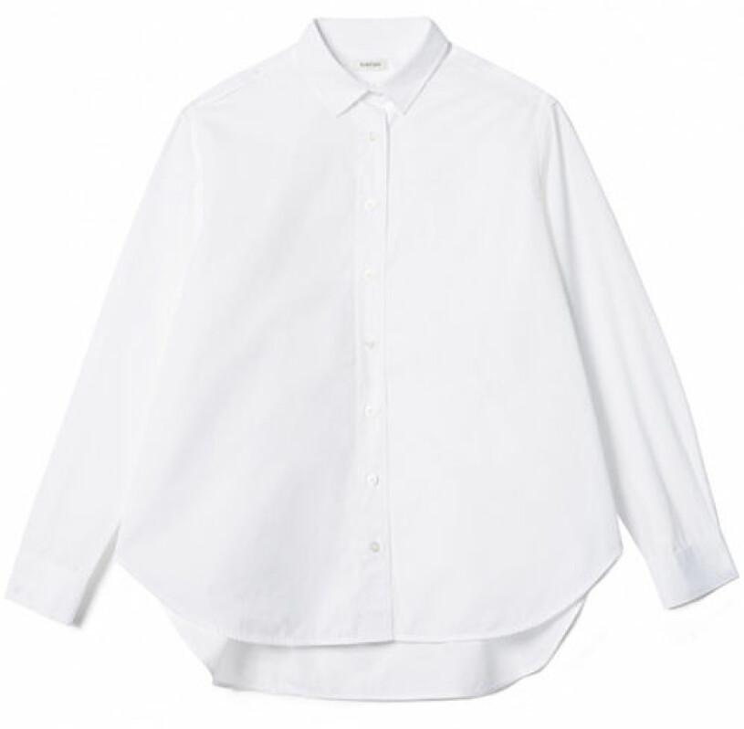 vit skjorta toteme