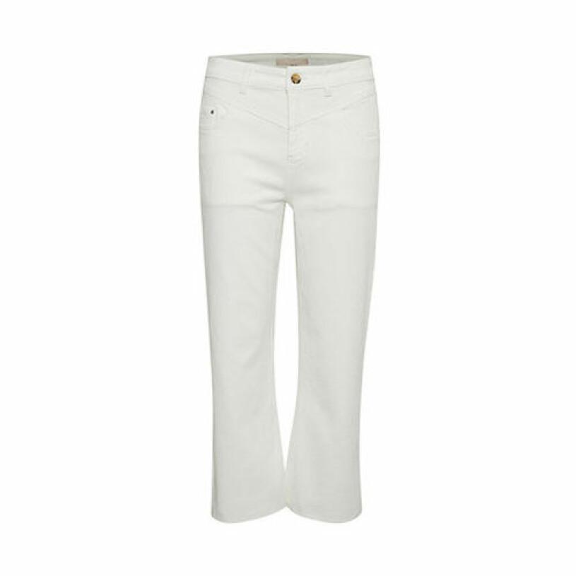 Vita ankellånga jeans, Karen by Simonsen