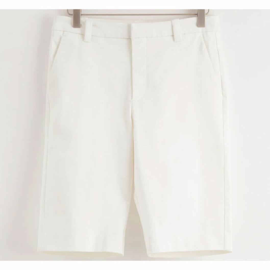 Vita shorts från Lindex