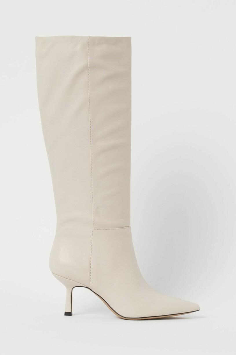 vita stövlar H&M