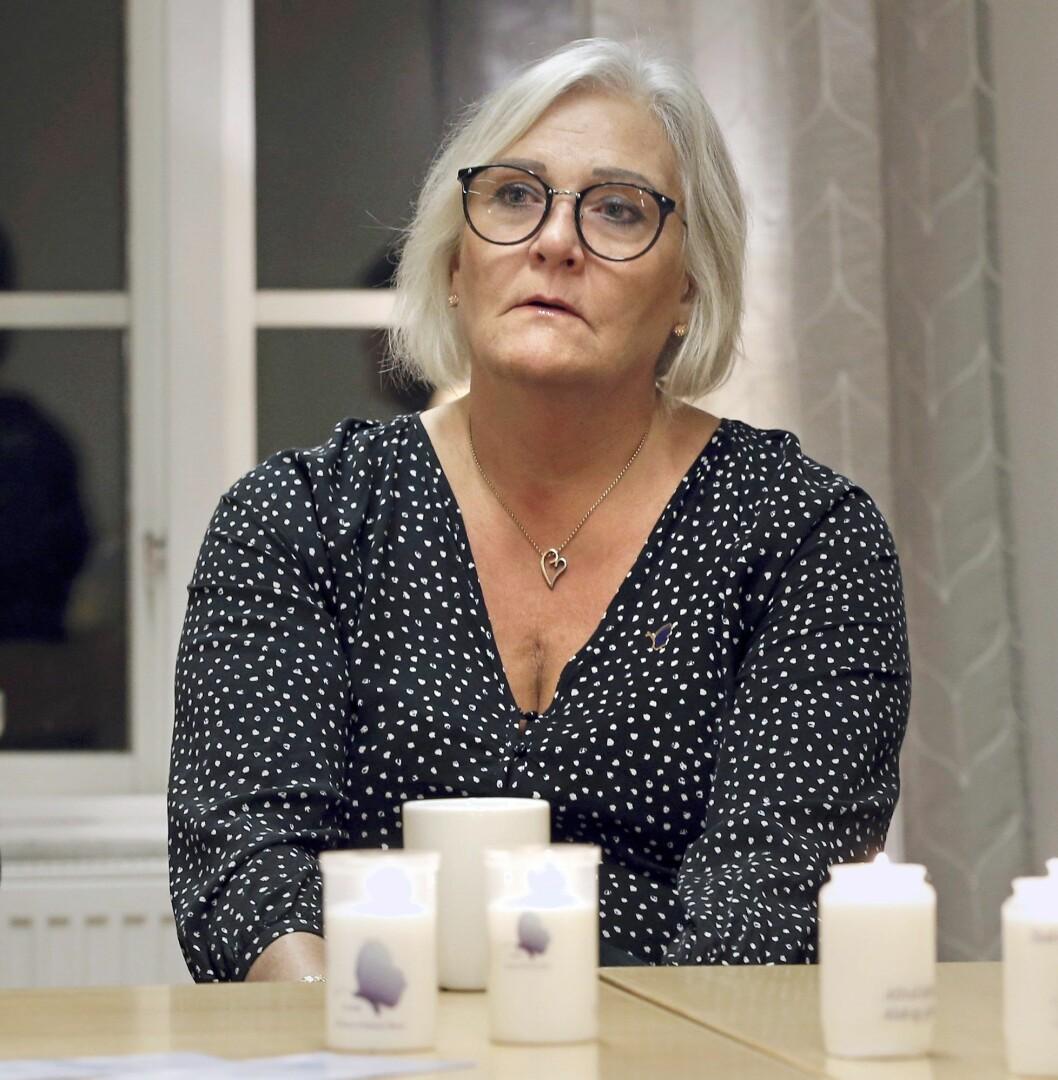 Mona Wimhed berättar om sonen Robins död.