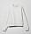 Ljusgrå sweatshirt med rund hals. Oversizad modell. Sweatshirt från Weekday.