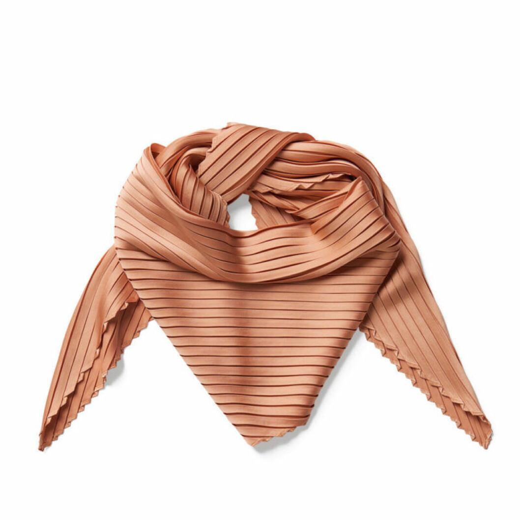 Plisserad sjal