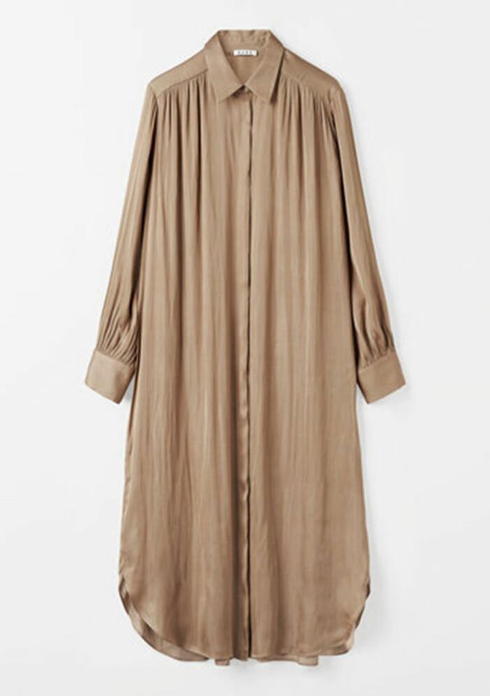 brun skjortklänning från wera