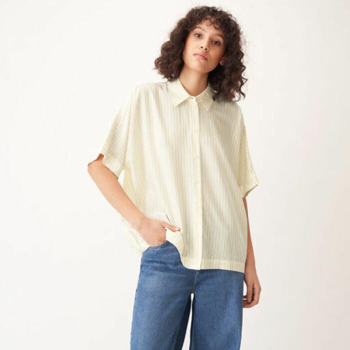 kortärmad skjorta dam