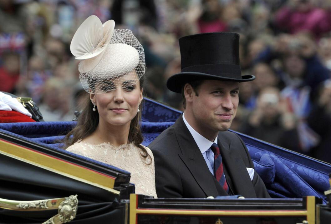 Prins William och Catherine.