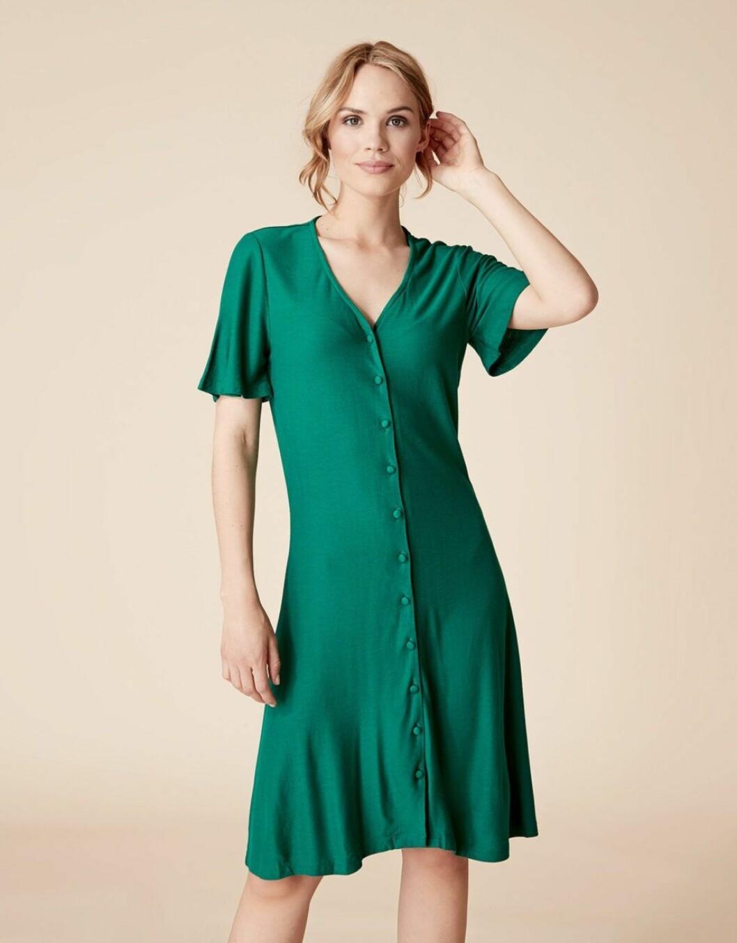 grön klänning indiska