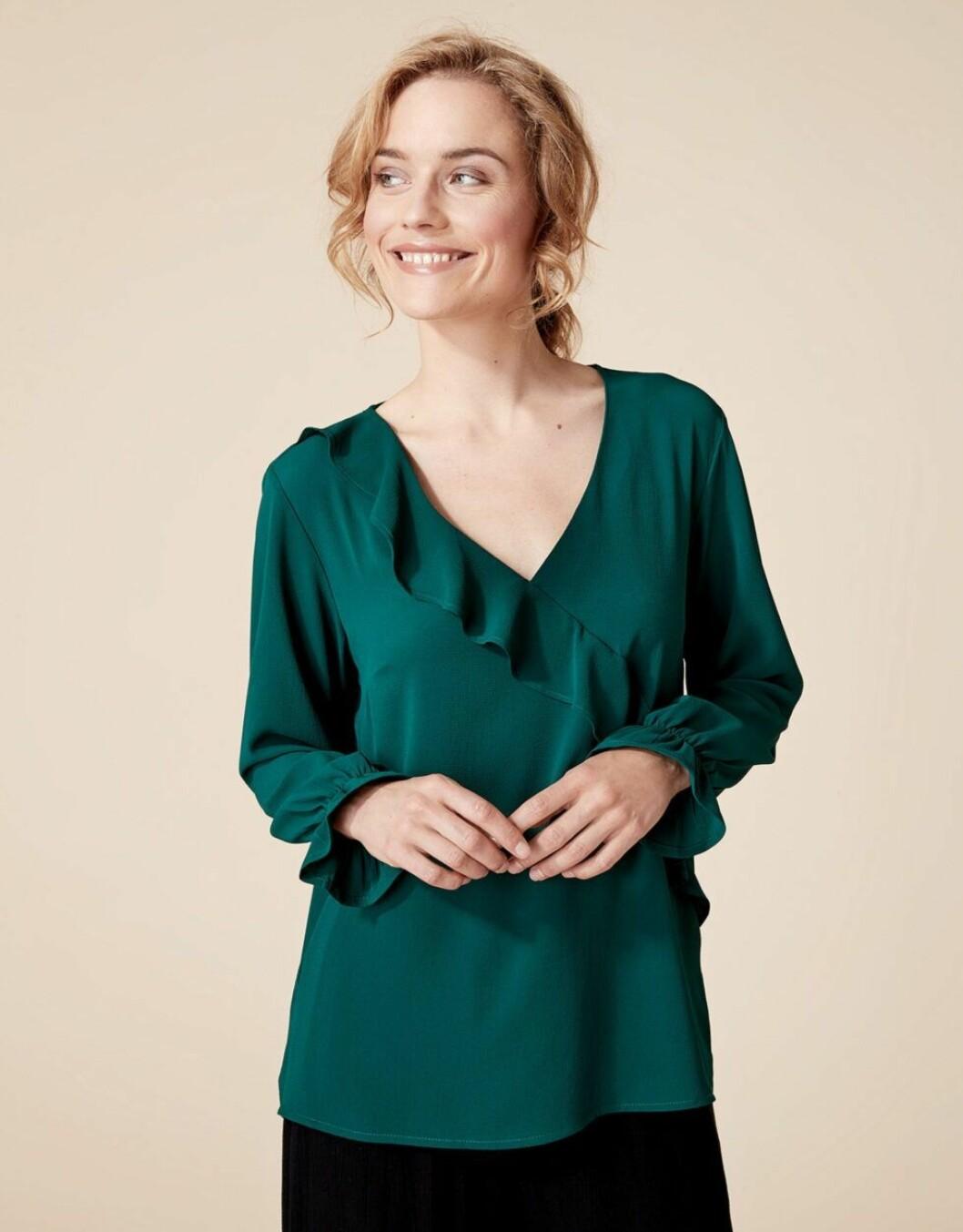 grön blus 2019