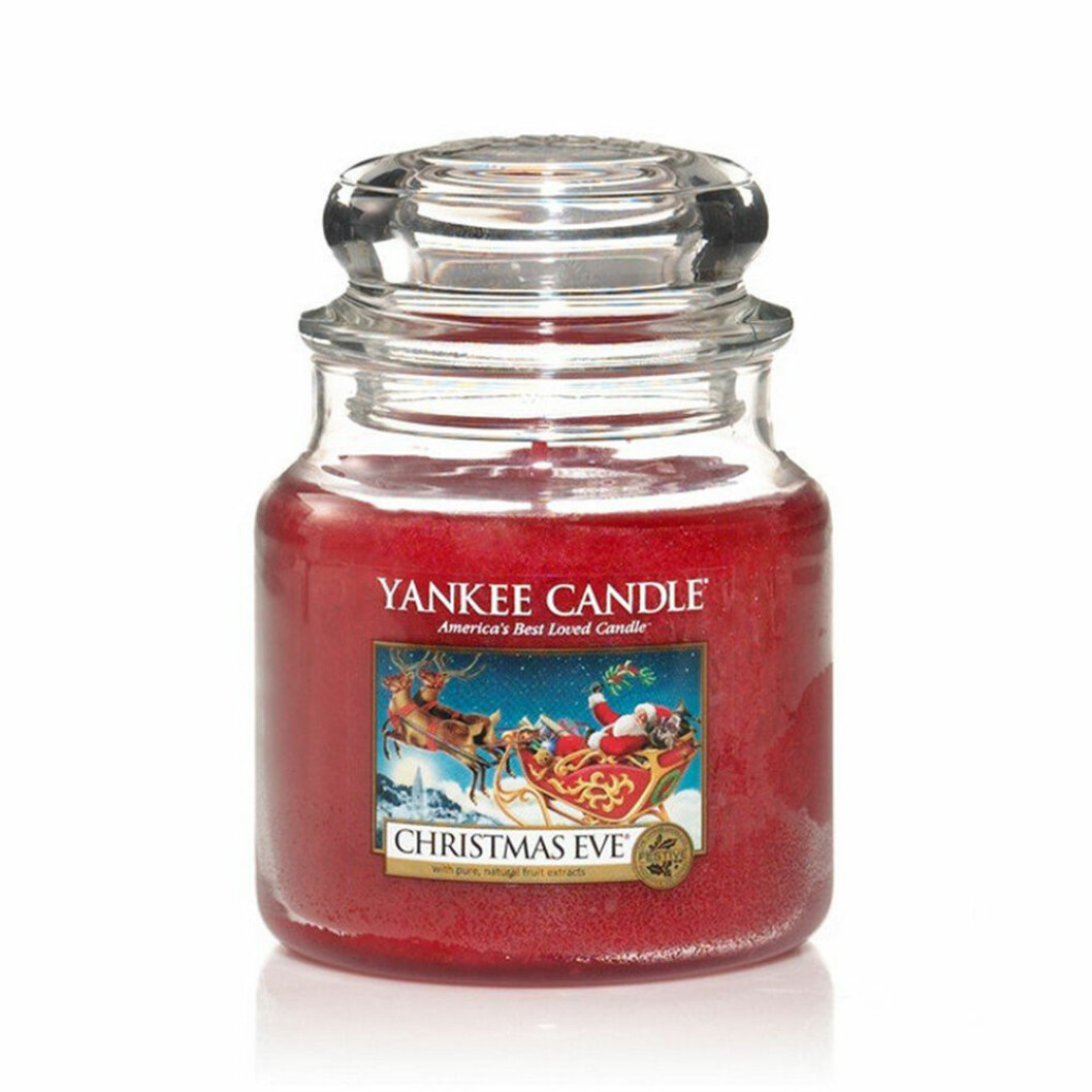 Yankee Candle doftljus till jul