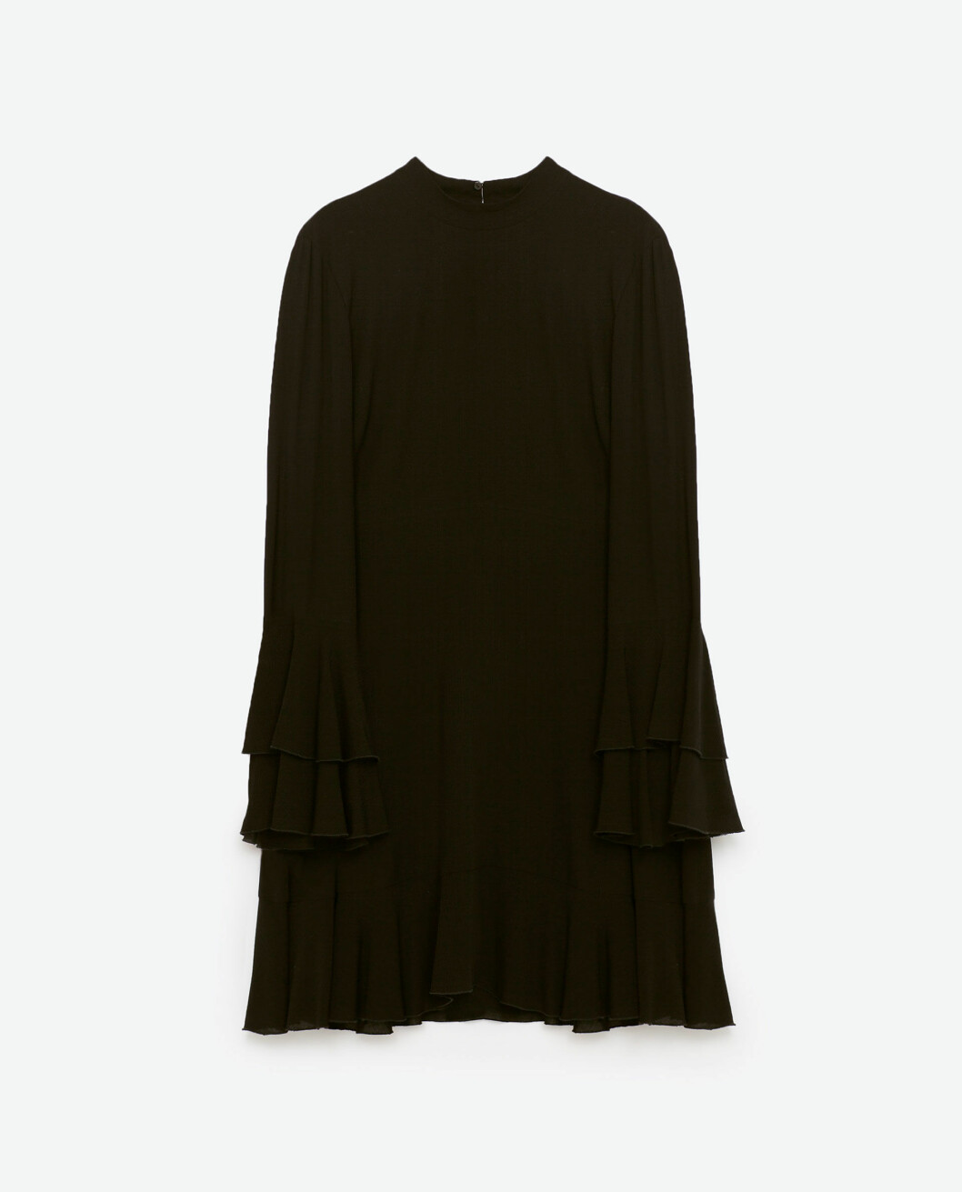 klänning-volanger-zara