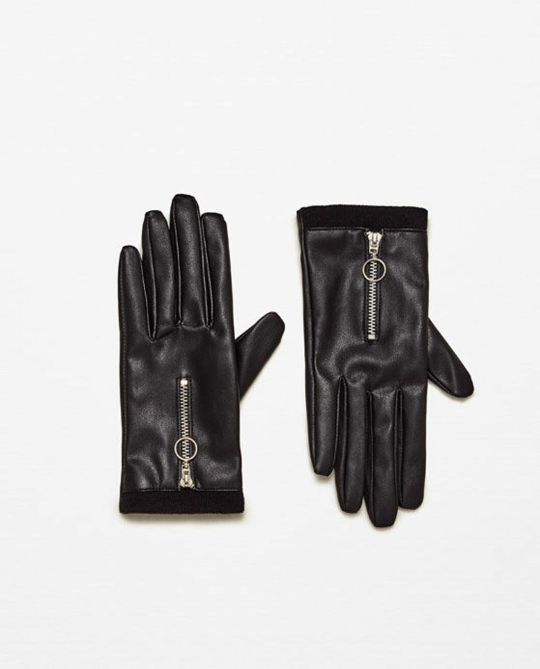 handskar-läderimitation-zara